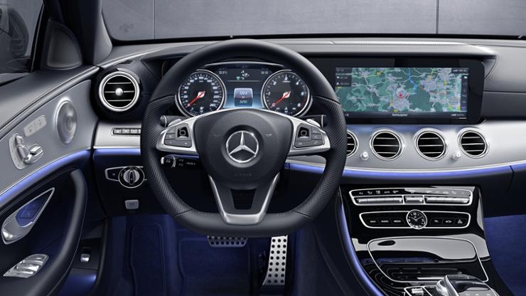 Xe Mercedes E-Class 2017 W213 & Bản đồ định vị Navigation