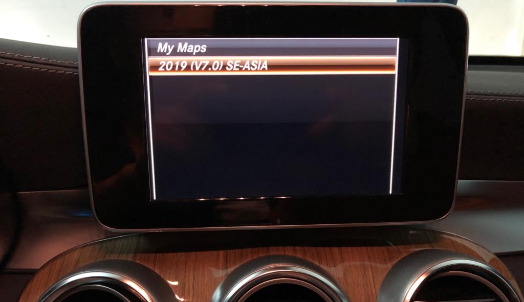 Mercedes Garmin MAP 2019 SEA
